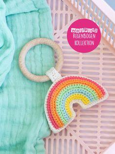 Crochet Baby Toys, Newborn Crochet, Crochet For Kids, Crochet Cross, Knit Crochet, Crochet Patterns Amigurumi, Knitting Patterns, Rainbow Crochet, Blanket Stitch
