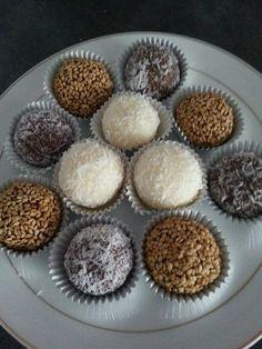 Boulettes a la noix de coco (sans cuisson)