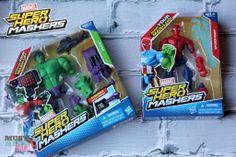 Marvel Super Hero Mashers Action Figure Toys - mix & match parts