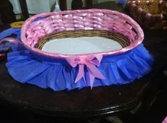 Dulce Mirabal cestas decoradas