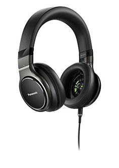 Panasonic Premium Best in Class Hi-Res Stereo Over-the-Ear Headphones with Mic + Controller RP-HD10C-K (Black) iPhone, Android… #deals