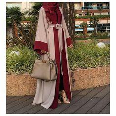 - (notitle) Hijab Style Dress, Casual Hijab Outfit, Islamic Fashion, Muslim Fashion, Modest Wear, Modest Outfits, Niqab Fashion, Fashion Outfits, Abaya Dubai
