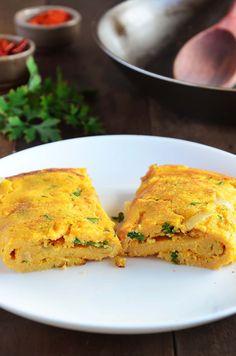 Omelete de grão de bico                                                       …