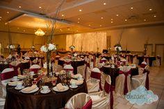 fall themed wedding décor