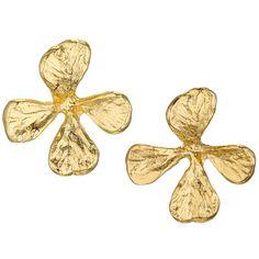 Cloisters Mustard Herb Earrings - The Met Store