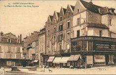 Lagny Sur Marne, Paris, Pixel, Painting, Antique Post Cards, Ile De France, History, Montmartre Paris, Painting Art
