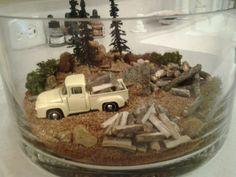 Truck terrarium