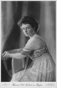 Pss Eitel of Prussia nee Pss Sophie of Oldenburg. Oldenburg, Vintage Photography Women, Religious Tolerance, Maria Feodorovna, Princess Alexandra, German Women, Prussia, Mistress, Royalty
