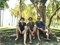 Rio - Praia de Botafogo- Daniel, Douglas, Ramon - 11/11/2011