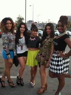 Fifth Harmony at the Beyonce Concert