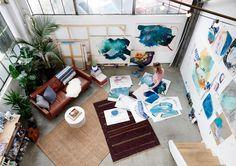 [Interior] Un loft para vivir y pintar | Decoración