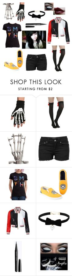 """""""Lou Iero"""" by halsey-iero ❤ liked on Polyvore featuring Hot Topic, Venus and Thom Browne"""