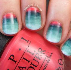 Want want want these nails...anyone know how to do this?!?