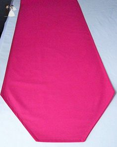Solid color HOT PINK table runner, made to order - Venue and reception decor (*Amazon Partner-Link)