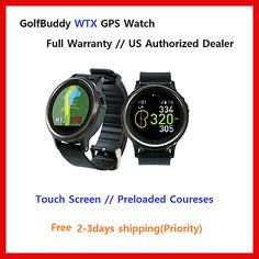 Rangefinders and Scopes 111289: Golfbuddy Wtx Watch Golf Gps Watch Range Finder Touch Preloaded Pedometer -> BUY IT NOW ONLY: $179 on eBay!