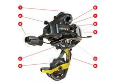 Anatomy of your rear derailleur