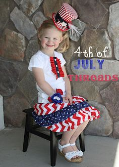 DIY - 4th of July outfit
