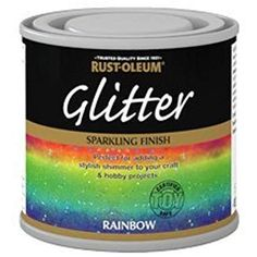 Find Rust-Oleum Glitter Silver Paint - at Homebase. Visit your local store for the widest range of paint & decorating products. Glitter Bedroom, Glitter Paint For Walls, Sparkle Wall Paint, Silver Paint Walls, Glitter Accent Wall, Silver Bedroom Decor, Silver Room, Rust Oleum Glitter, Interior Paint Colors