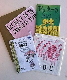Examples of zines from Faces of Feminism webpage at Georgia State University.