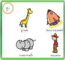 El baúl de A.L: Juego online: identificación visual de letras en palabras
