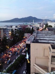 Manado city. North Sulawesi. Indonesia