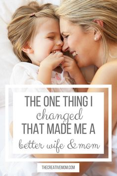 Youll never believe how this ONE THING can make such a big difference! This is how to be a better mom
