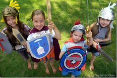 Fun activities to help children learn about the Armor of God! #bible #kids #homeschool