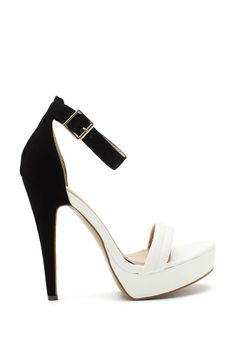 These shoes would match perfect with my black n white outfits