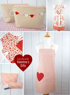 Handmade Valentine's Day Gifts from TwoMoreMinutes.com
