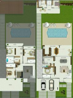 23 Trendy home design plans two floor Sims 4 House Plans, Bungalow House Plans, Modern House Plans, Small House Plans, House Floor Plans, Small House Layout, House Layouts, Single Storey House Plans, Sims House Design