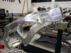 Without the rule inhibitions of production-based racing, Stanboli is given a free hand to design his CRT prototype chassis.