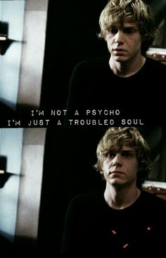 tate langdon, cute but psycho and american horror story