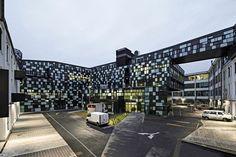 Businesspark Breitensee, Vienna, 2014 - HOLODECK architects