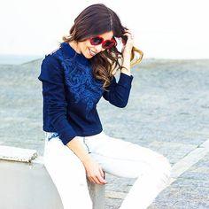 Look jeans by @ziann_jeans para @foccaj que é puro amor!