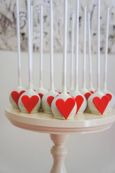Queen of Heart Cake Pops
