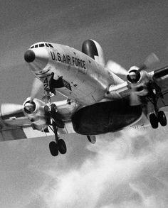 Lockheed RC-121C Warning Star  via: aeroman3
