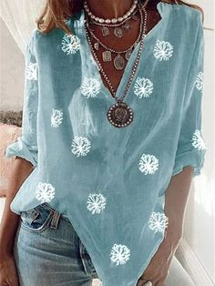 Stitch Fix Outfits, Plus Size Casual, Casual Tops, Half Sleeves, Types Of Sleeves, Cheap Womens Tops, Casual Fall, Retro, Blouses For Women