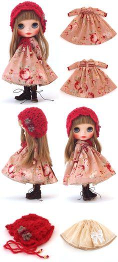 mahounote.の画像 エキサイトブログ (blog) Liv Dolls, Blythe Dolls, Barbie Dolls, Girl Doll Clothes, Doll Clothes Patterns, Diy Clothes, Cute Crochet, Crochet Dolls, Sewing Dolls