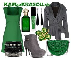 #kamzakrasou #sexi #love #jeans #clothes #dress #shoes #fashion #style #outfit #heels #bags #blouses #dress #dresses #dressup #trendy #tip #new #kiss #kisses Elegantná v smaragdovej - KAMzaKRÁSOU.sk