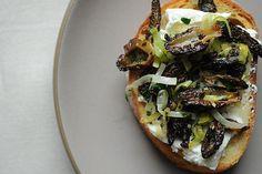 Morel Crostini recipe on Food52