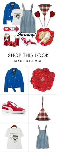 """Have a nice day!"" by tiffany-74 ❤ liked on Polyvore featuring Acne Studios, Puma, Slow and Steady Wins the Race and Chicnova Fashion"