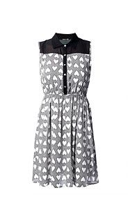 SHEER INSET SHIRT DRESS......Perfect for the Summer