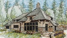 Eplans Contemporary-Modern House Plan - Two Bedroom Contemporary - 3719 Square Feet and 2 Bedrooms from Eplans - House Plan Code HWEPL72514