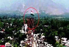 Indian Army Jawan Removes Pak Flag & Hoists Tiranga In Kashmir. Watch! #ArmyJawan #IndianArmy #Tiranga #Tricolor #J&K #Kashmir #Patriot #India #Indian