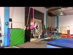 Aerial Hammock/ Sling routine to Skyfall - YouTube