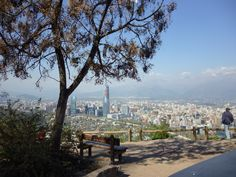 vista desde el cerro san cristobal
