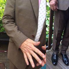 Paul Smith suit, Crockett and Jones Monks, for Polo Ralph Lauren