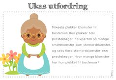 ukas utfordring Teaching Math, Maths, Word Problems, Kids And Parenting, Winnie The Pooh, Norway, Classroom, Teacher, Education