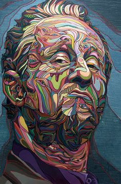 Marchal Mithouard o Shaka, es un artista francés que con sus obras coloridas, crea una mezcla salvaje entre la pintura, la escultura y el graffiti, en las que explora esa extraña sensación producida cuando sus piezas parecen cruzar del lienzo a la realidad.