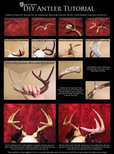 DIY Antler Tutorial by Chaos Costumes by Why-Not-Chaos on DeviantArt